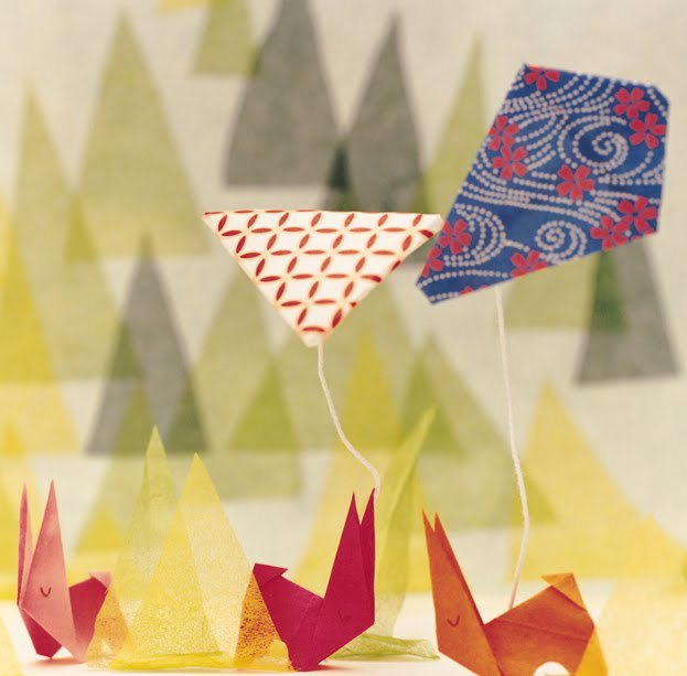 Paper Fan Bunny Craft – Housing a Forest | 613x623