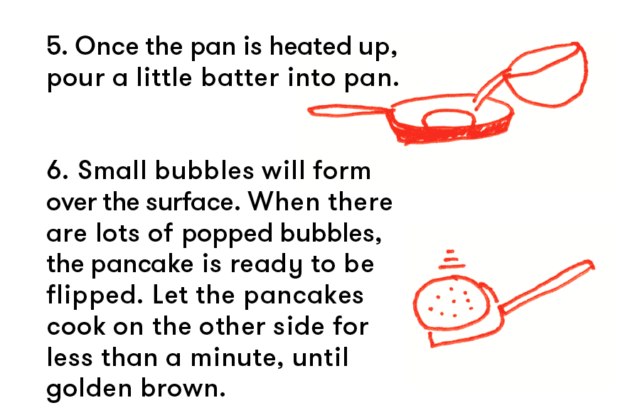 windy & friends blog — pancake recipe for children