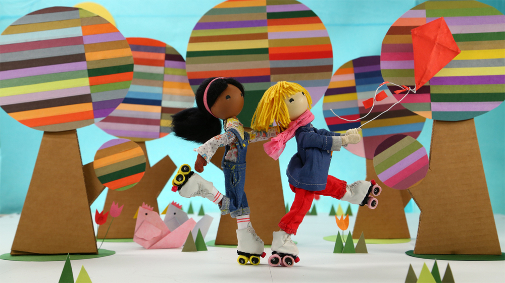 "Rollerskating with Windy in Appisode 1, ""Windy's Lost Kite"