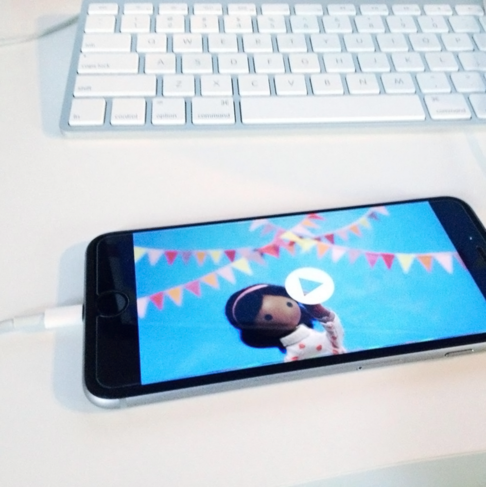 Capturing interactive footage on an iPhone 6+ | We're updating our apps for iPhone 6 now