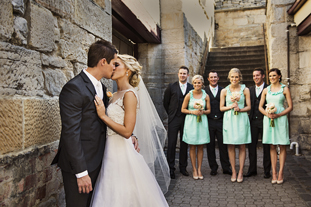 Zara & Travis •  11 January 2014  St. David's   Cathedral & Mawson's Pavilion