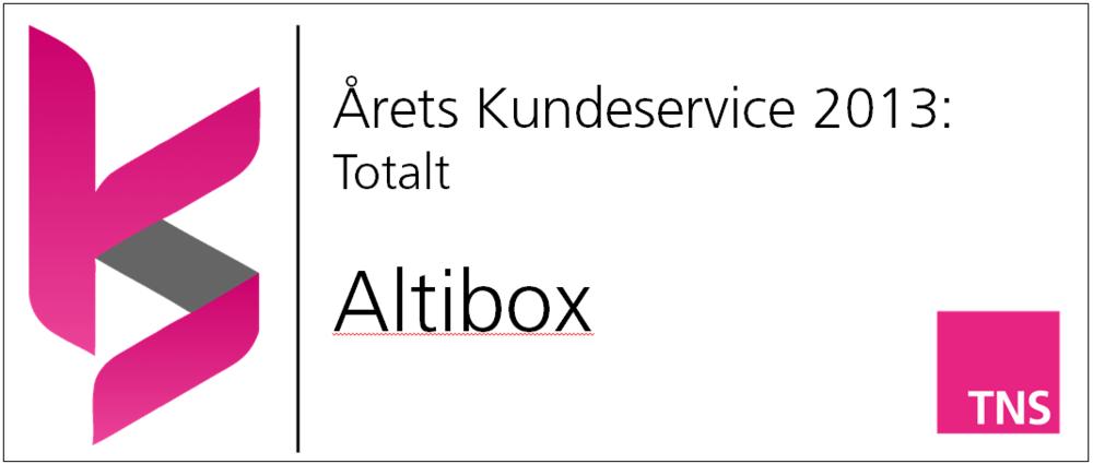 Altibox leverer klart best i to vanskelige kategorier. Utfordringene er store når kundene opplever brudd midt i en tottenham-kamp, men de møter dem med kompetanse og høy løsningsgrad. Å skåre best i både TV-signal og bredbånd er ikke annet enn en bragd!