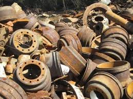 Cast Iron Drums and Rotors from Cars and Trucks - We pay top price for this Ferrous Scrap