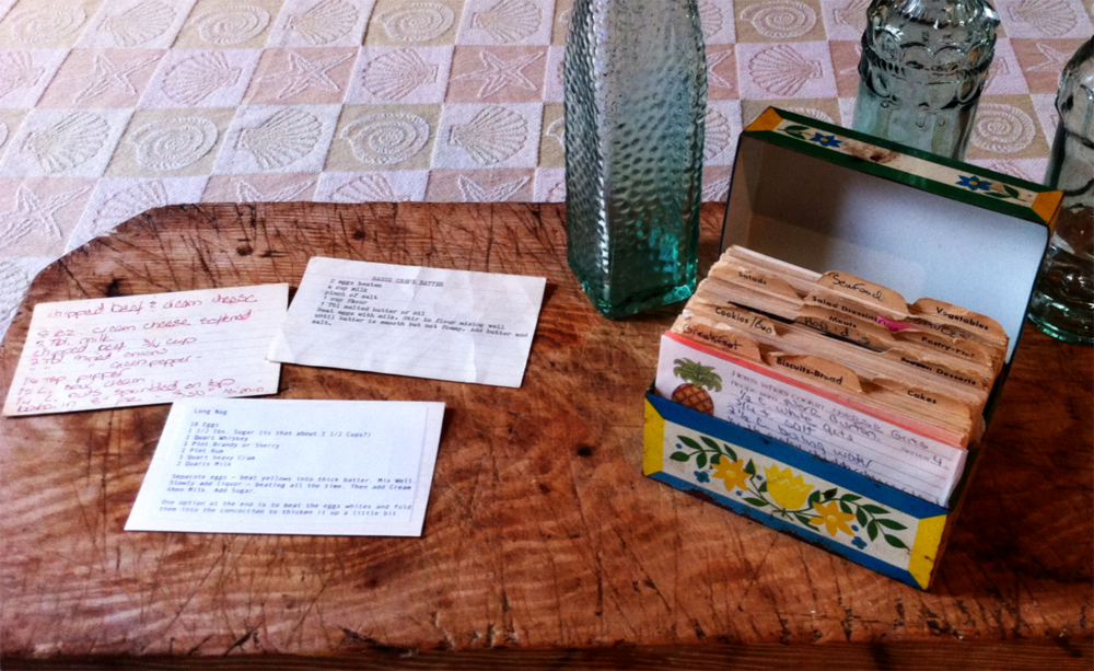Mom's Old Recipe File