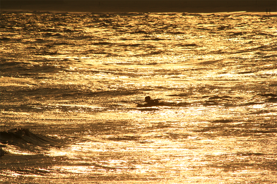 Cove's Golden Light