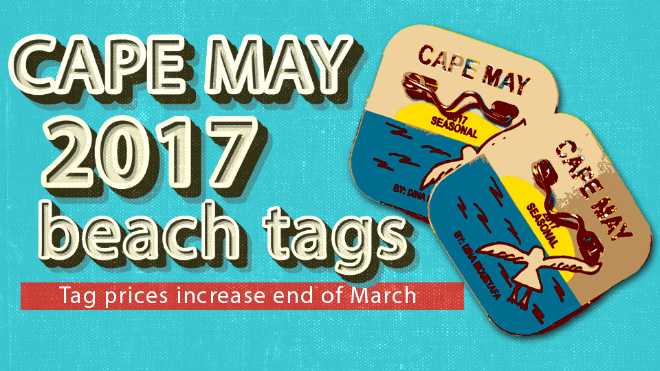 Attention Beach Goers — get your seasonal tags now before the price goes up