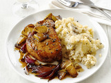 Pork Chops With Apples and Garlic Smashed Potatoes..jpg
