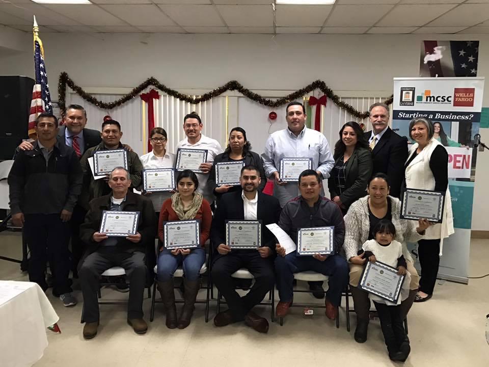 Los Nuevos Empresarios de Delano — Mission Community Services