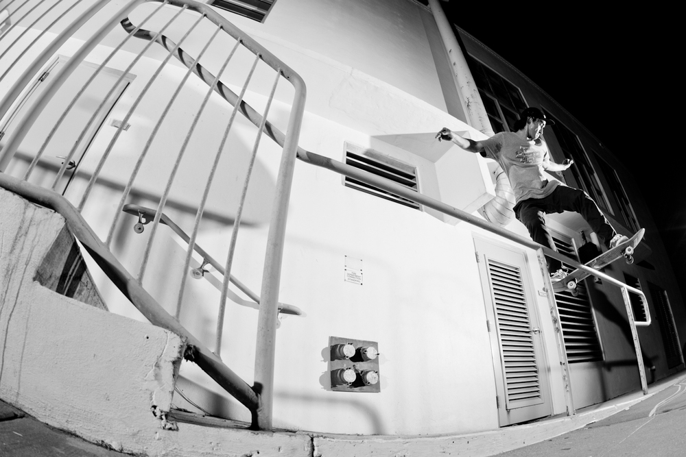 Jose David Velez | Switch Front Boardslide | Miami Beach, FL