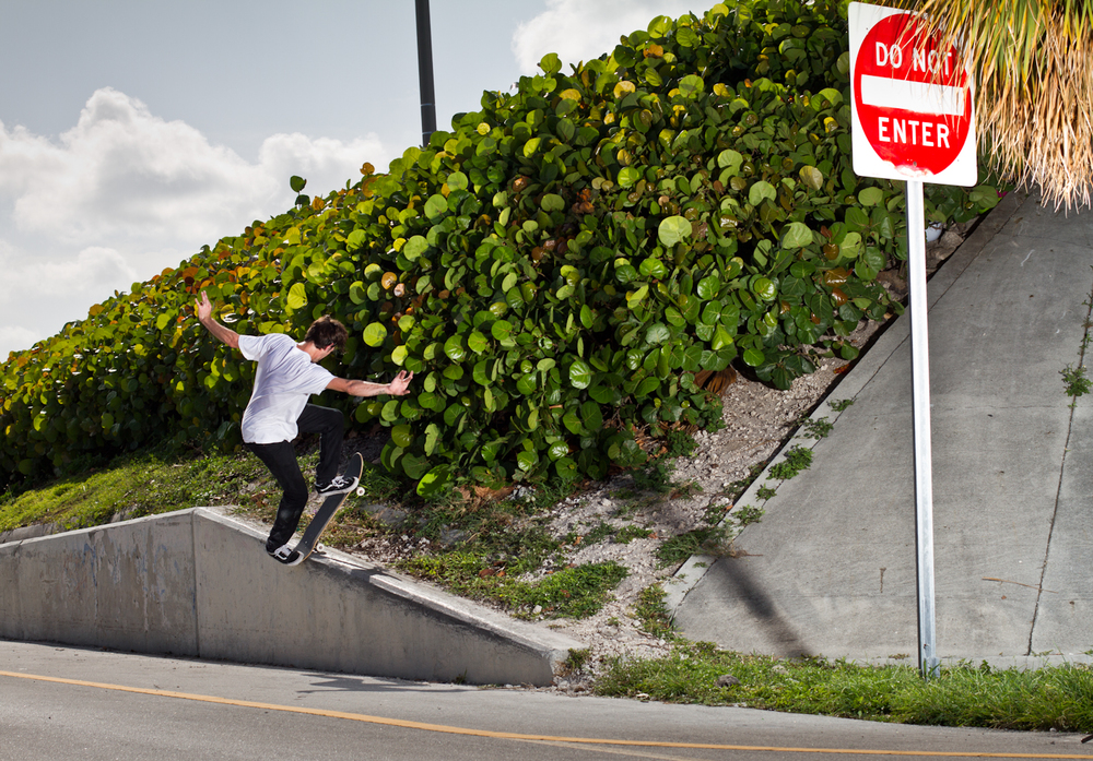 Juston Johnson | Front Bluntslide | Key Biscayne, FL