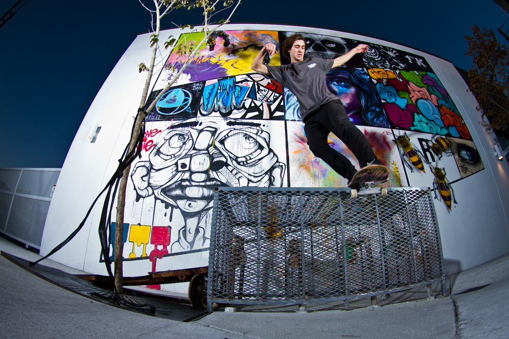 John Baragwanath | Backside Lipslide | Wynwood, FL