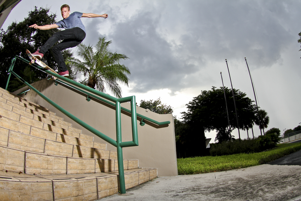 Rafael Lynch | Frontside Boardslide | Miami, FL