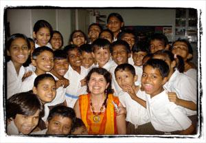 Storytelling in New Delhi India