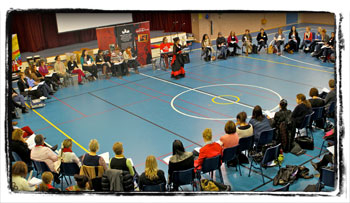 Workshop for teachers, ECCPA Australia.