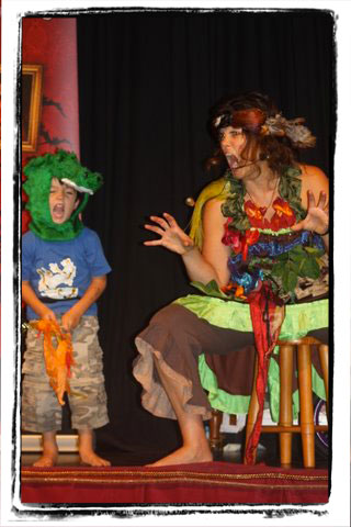 Children's storytelling show, 'Elemental'.