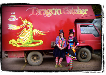 Dragon Catcher Tour with Tanya Batt and Helen Bacon.