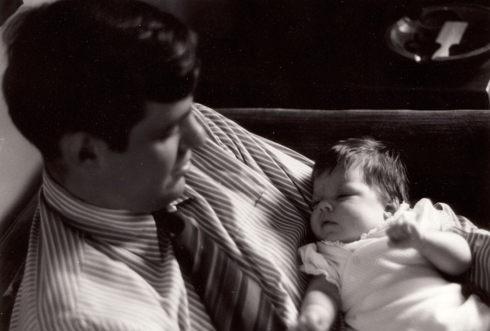 Dad and me, 1972