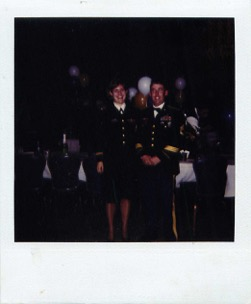 With my first platoon sergeant at a battalion function