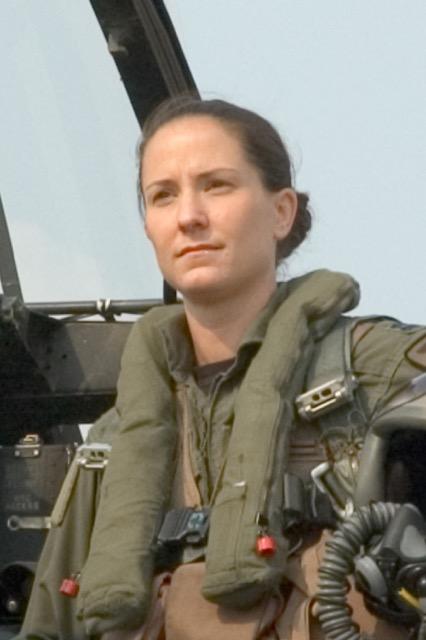 Air Force fighter pilot instructor LTC Tammy Barlette