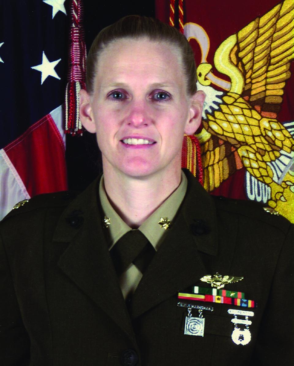 Sarah Deal Burrow, USMC officer and aviator