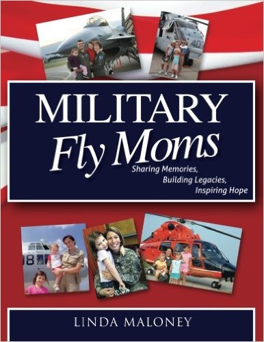 Linda's book celebrates military pilots who are moms, too