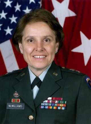 MG Dee McWilliams