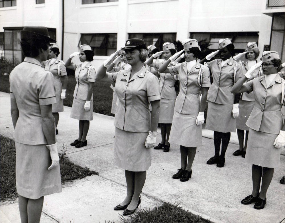 Soldiers of the Women's Army Corps, photo courtesy of the Army Women's Museum
