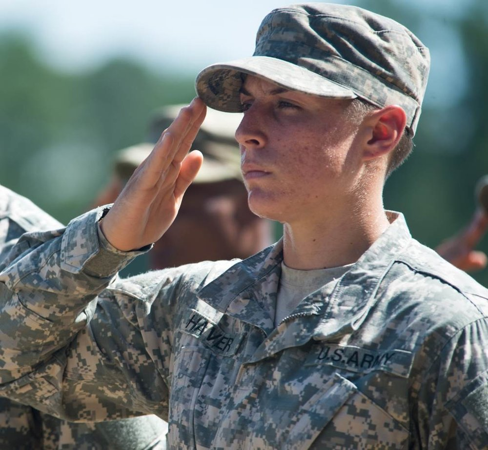 Shaye Haver, U.S. Army Ranger