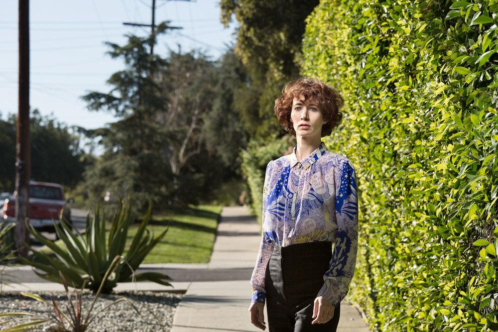 Miranda July in Los Angeles
