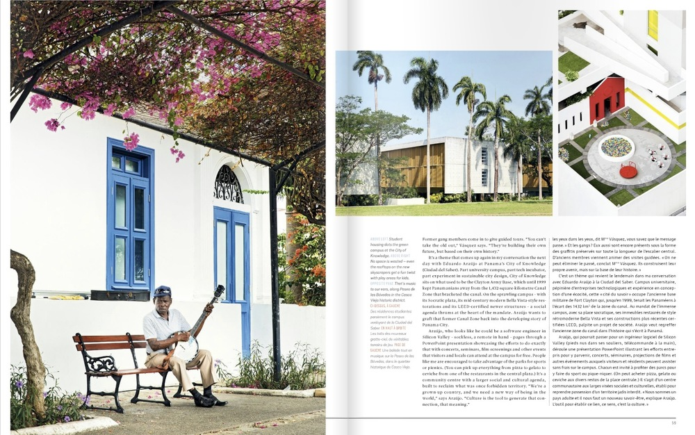 Martin Adolfsson - architectural travel photography for EnRoute in Panama City