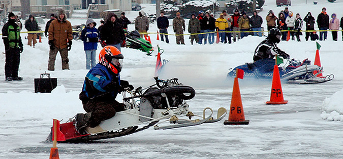 Date Announced for Wawasee Kiwanis Snowmobile Drags | Lake