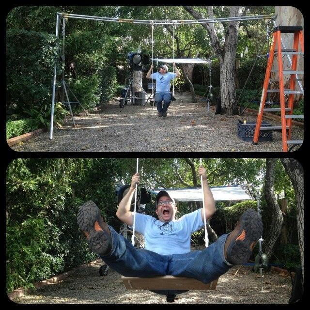 A Swing Set . . .