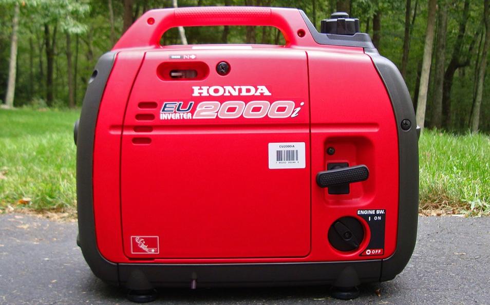 Honda EU2000i Suitcase Generator 1600 watts continous, 2000 watts peak power