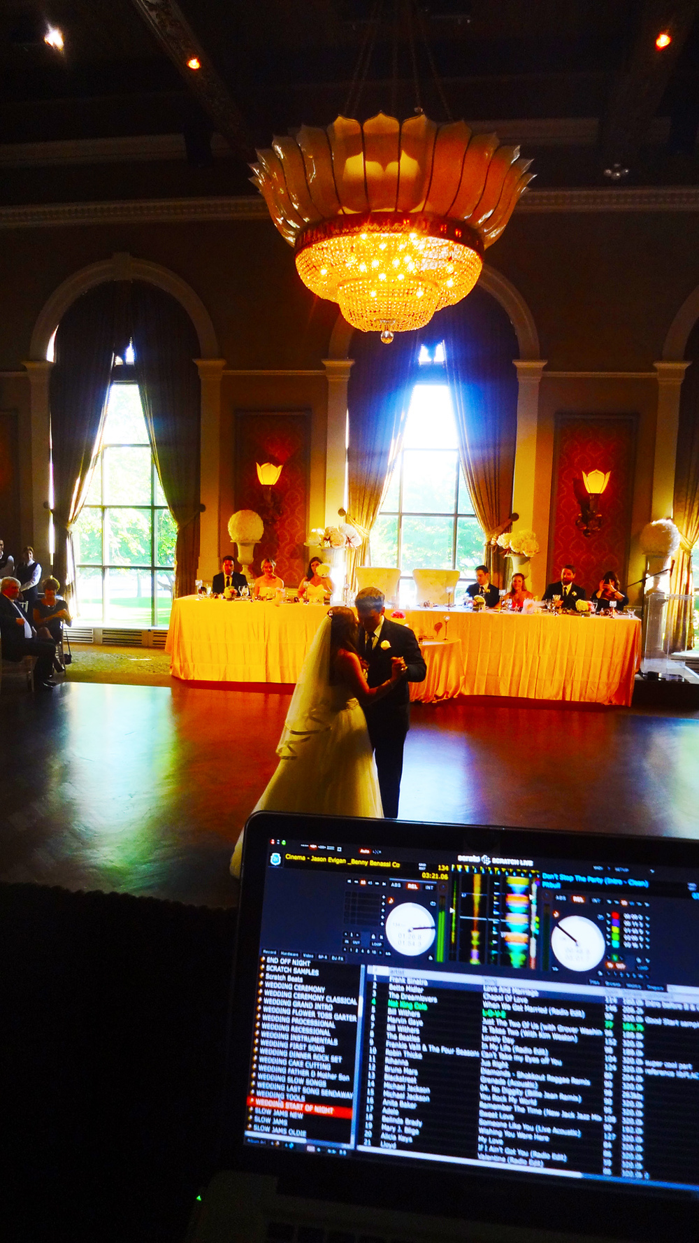 First Dance Liberty Grand Wedding Del Vinyl Entertainment.jpg