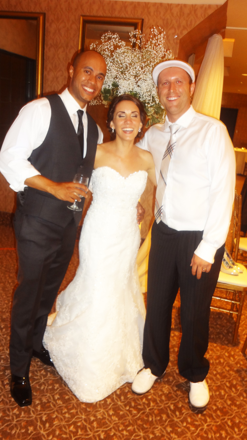 Bride & Groom with Dj Greedo @ The Manor.jpg