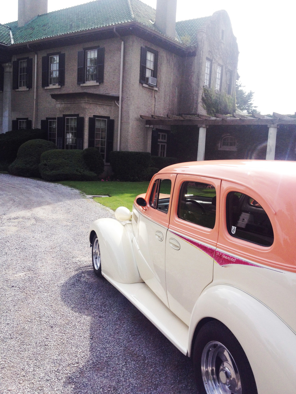 Vintage Car @  Parkwood Estates  Ceremony Oshawa