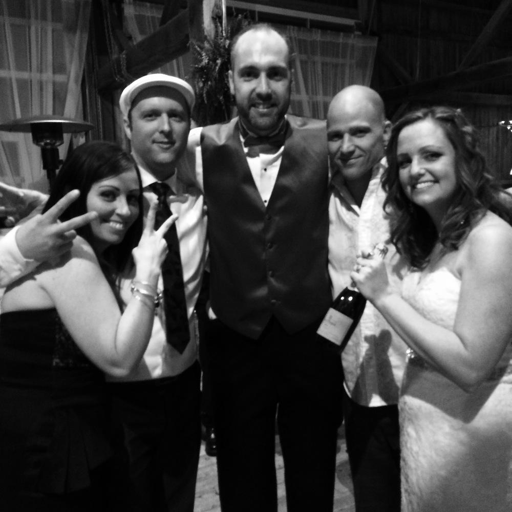 Newlyweds @ Feilds On West Lake wedding 2015.jpg