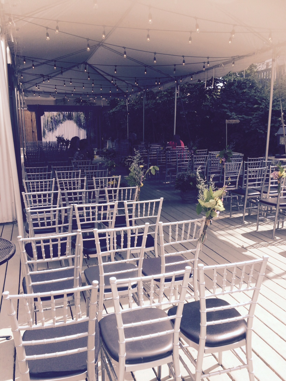 Ceremony Berkeley Feild House Toronto Dj Set up.jpg