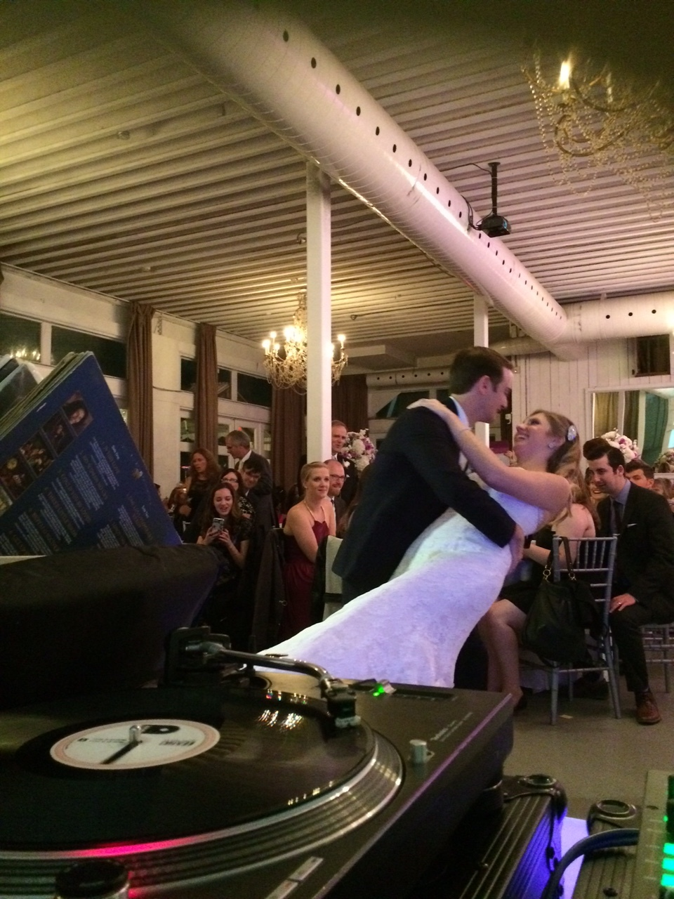 First Dance Vinyl Toronto Berkeley Field House Del Vinyl Entertainment.JPG