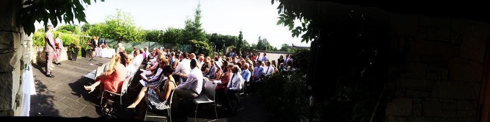 toronto botanical gardens ceremony dj.jpg