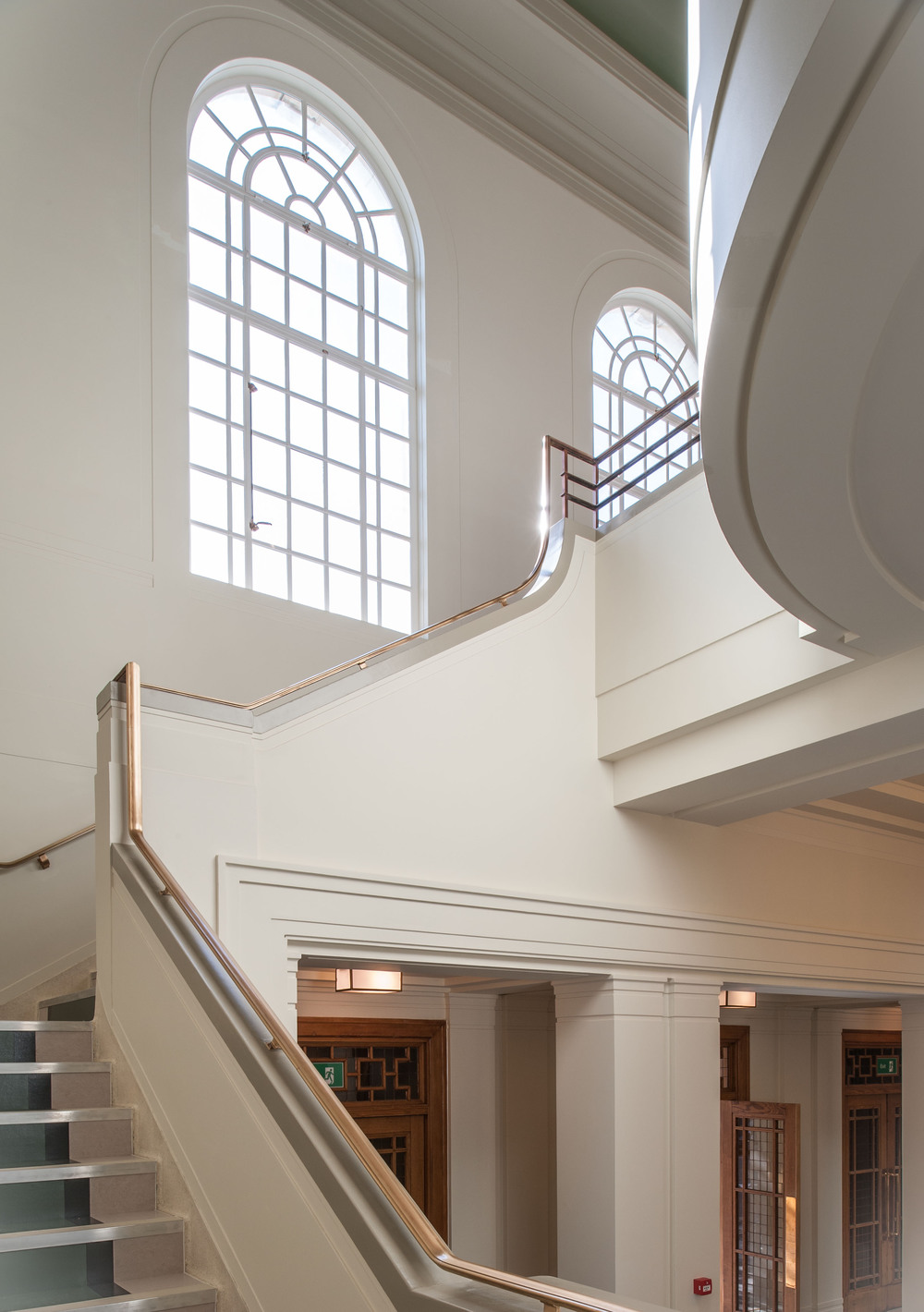 Hackney Assembly Rooms staircase
