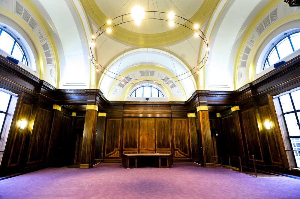 Stoke Newington Town Hall Council Chamber