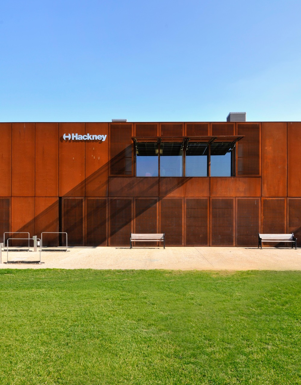 External view of Hackney Marshes Centre
