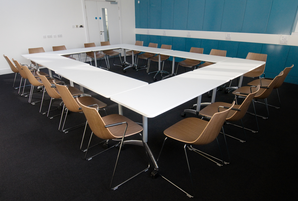 Boardroom style at the Tomlinson Centre