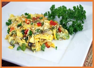 Southwestern Style Omelet Recipe