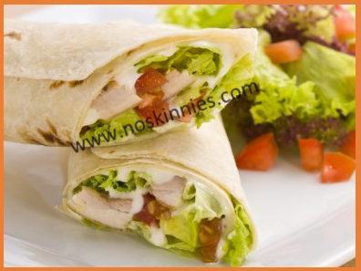 Yummy Turkey and Avocado Wrap!