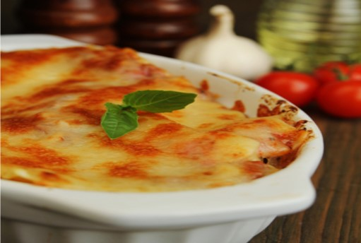 Healthy Low Cal Spinach Lasagna