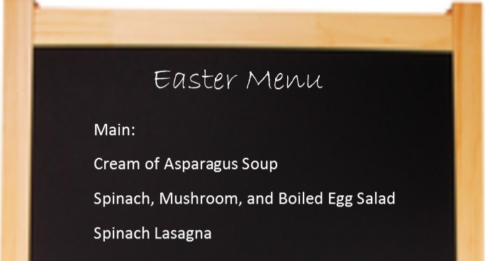 Healthy Easter Meal Options