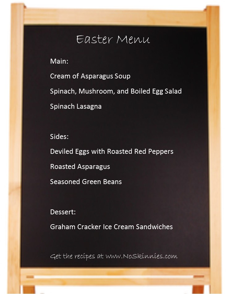 Healthy Easter Menu Options