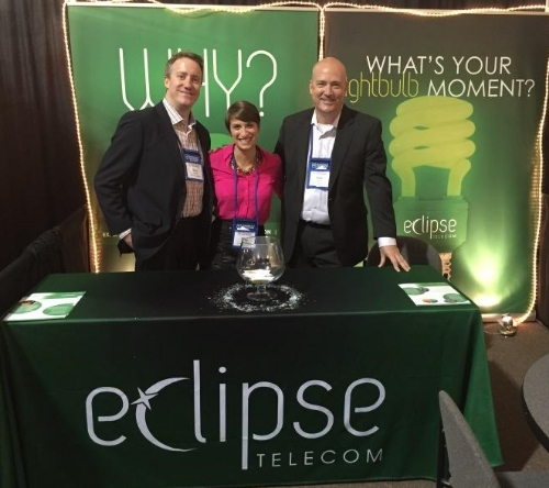 Dave, Nikki, and Todd at the Midmarket CIO Forum in October 2014.